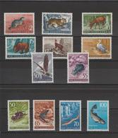 Triestre Zone Yougoslave 1954 Animaux 92-103 12 Val ** MNH - Ungebraucht