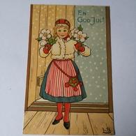 En God Jul / Zweden Illustrator L. B 19?? - Kerstmis