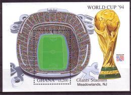 Soccer World Cup 1994 - Football - GHANA - S/S MNH - World Cup