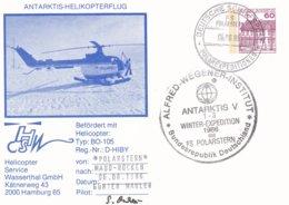 Germany PS Antarktis-Helikopterflug F/S Polarstern Winter Expedition 1986 (G97-52) - Hubschrauber