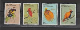 Papouasie Nlle Guinée 1970 Oiseaux 174-77 4 Val** MNH - Papouasie-Nouvelle-Guinée