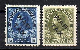 Sellos Nº 102/3   Canada - 1911-1935 Reinado De George V