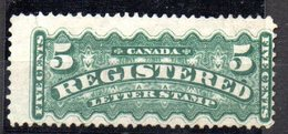 Sello Nº 2 Timbres Pour Lettres Chargees  Canada - 1911-1935 Reinado De George V