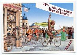 VEYRI - BERGERAC - Carte Du 26° Salon - Cyrano - Cyclisme - 2014 -  Voir Scan - Veyri, Bernard