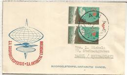 SUDAFRICA CC CON MAT BASE ANTARTICA SANAE ANTARCTIC STATION - Estaciones Científicas