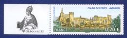 FRANCE GREGOIRE XI. Palais Des Papes Avignon Neuf **. - Papes