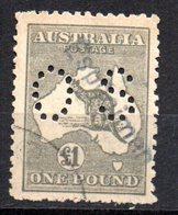 Sello Nº Timbre Service 36 Australia Sobrecarga Especimen - 1913-36 George V: Heads