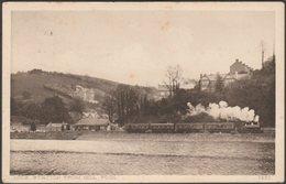 Looe Station From Mill Pool, Cornwall, 1913 - Keast Postcard - England
