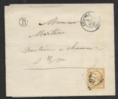 Seine Et Marne-Lettre-GC 977 De Chaumes Sur N°21-Boite Rurale - Marcophilie (Lettres)
