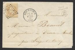 Seine Et Marne-Enveloppe-GC 2065 De Lizy Sur Ourcq Sur N°28 - Marcophilie (Lettres)