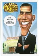 VEYRI - FLOIRAC - 22° Salon De La Carte Postale - OBAMA - 2009 -  Voir Scan - Veyri, Bernard