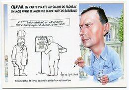 VEYRI - FLOIRAC - 21° Salon De La Carte Postale - CHAVAL - 2008 -  Voir Scan - Veyri, Bernard