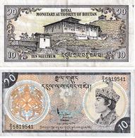 Bhoutan 10 Ngultrums - Bhutan