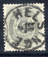 DENMARK 1875 Numeral In Oval 3 Øre Grey/grey-blue, Used. .  Michel 22 I Ya - 1864-04 (Christian IX)