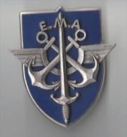 INSIGNE EMA ETAT MAJOR DES ARMEES, Relief  - DELSART G 2561 - Armée De Terre