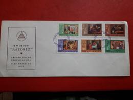 Le Nicaragua FDC Des échecs 1976 - Schach