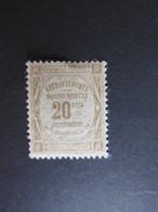 157) Timbre Taxe Yvert N° 45 Neuf * ------- Cote 50.00 € - 1859-1955 Neufs