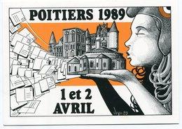 VEYRI - POITIERS - 5° Salon - 1989 - Voir Scan - Veyri, Bernard