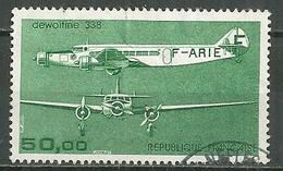 FRANCE Oblitéré 60 Avion Trimoteur Dewoitine 338 - Poste Aérienne