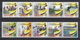 BRUNEI 1999 - 20º SEA GAMES - SPORTS - YVERT Nª 551-560** - Brunei (1984-...)