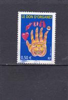 France Oblitéré  2004  N° 3677  Le Don D'organes - Oblitérés