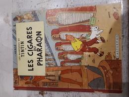 TINTIN ET LES CIGARES DU PHARAON-4 EME PLAT B15 -EO COULEURS 1955 -B - Tintin