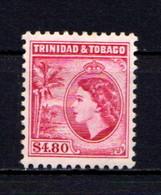 TRINIDAD  AND  TOBAGO    1953    $4-80  Carise    MH - Trinidad & Tobago (...-1961)