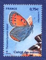 FRANCE Papillon Neuf **. Cuivré Des Marais. - Papillons