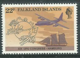 Falkland  N° 424  XX  19ème Congrès De L'U.P.U. Sans Charnière, TB - Falkland