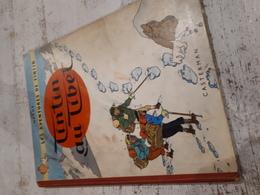 TINTIN AU TIBET-EO-1960 -PLAT B29-ETAT MOYEN - Tintin