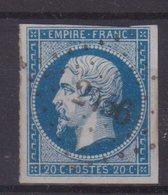 """FRANCE : PC 2456 . """" PLESTIN """" . (21) . N° 14 . TB . - Marcophilie (Timbres Détachés)"""
