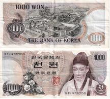 Corée Du Sud 1000 Won - Korea, Zuid