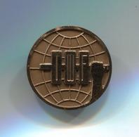 INTERNATIONAL WEIGHTLIFTING FEDERATION - IWF, Pin, Badge, Abzeichen - Weightlifting