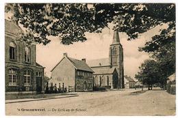 's Gravenwezel, De Kerk En De School (pk52686) - Schilde