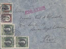 LETTRE. COVER. CHILE. POR AVION. 1929. SANTIAGO TO PARIS FRANCE - Timbres