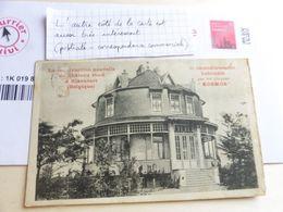 Chateau Rond Rixensart Plaques Kosmos Publicité Au Dos - Advertising