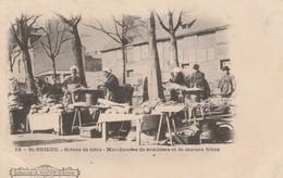 SAINT-BRIEUC : (22) Scènes De Foire. Marchandes De Saucisses Et De Morues Frites - Saint-Brieuc