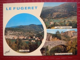 04. LE FUGERET - Vue Générale . Bontès . Vue Générale . Le Vieux Pont Sur La Vaire - Francia