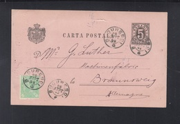 Romania Stationery 1893 Fratii Assan - 1881-1918: Charles I