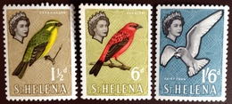 St Helena 1961 Birds From Definitive Set MH - Oiseaux