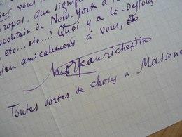 Jean RICHEPIN - Autographes