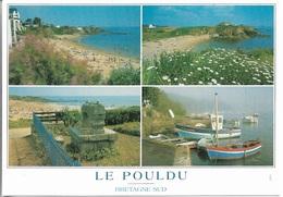 29 - Le Pouldu - Bretagne Sud - Multi Vues - 4 Vues - Cpm - écrite - - Le Pouldu