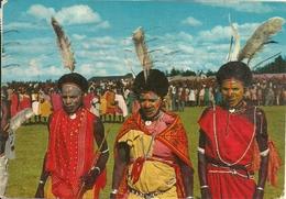 Kenia, Kikuyu Dancers, Danzatori Kikuyu - Kenia