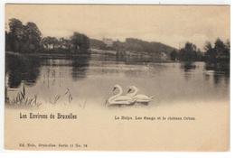 La Hulpe, Les étangs Et Le Château Orban. Les Environs De Bruxelles - La Hulpe