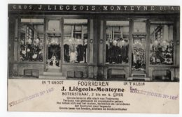 Ieper Ypres Fourruren  J Liegeois Monteyne Winkel 1913 - Ieper