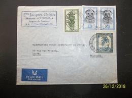 Congo Belge: 1952 Air Cover To Belgique (#NL5) - Belgian Congo