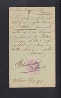 MItalien Italia GSK 1891 Marca Da Bollo - 1900-44 Victor Emmanuel III.