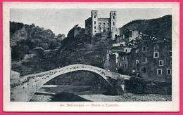 Dolceacqua - Ponte E Castello - Tip. Lit P. GIBELLI Bordighera - Imperia
