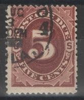 USA - Taxe - YT 11 Oblitéré - Portomarken