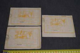 Loterie,exposition Bruxelles 1910 ,lot De 3 Billets,pour Collection - Lottery Tickets